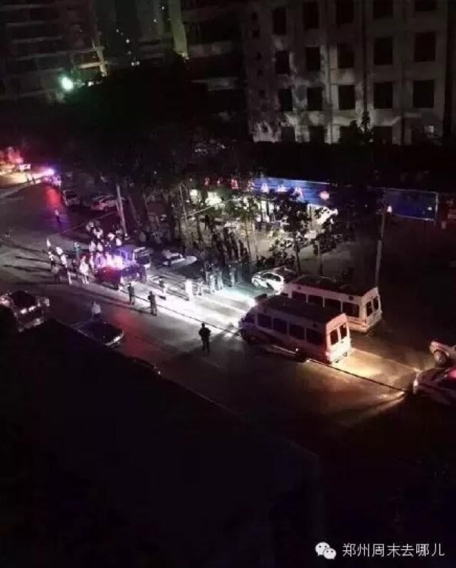 A Xinjiang restaurant in Zhengzhou near where the alleged shooting took place. Photo: weibo