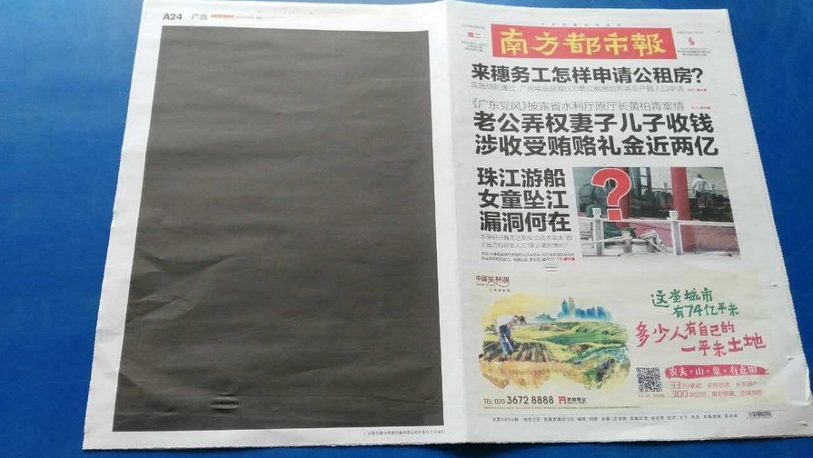 china newspaper democracy day