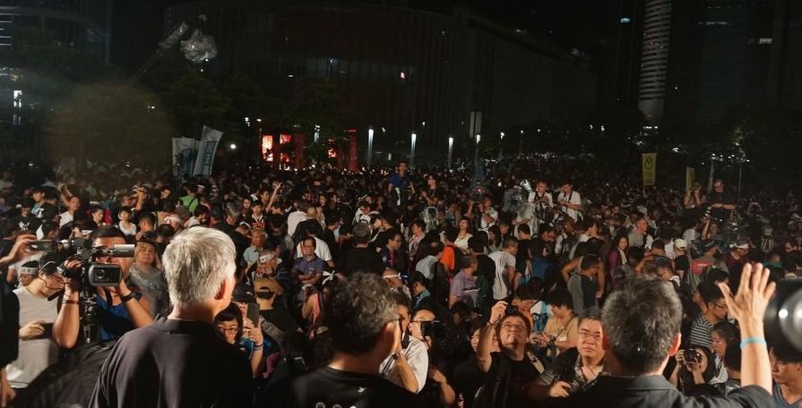 Occupy movement, 2014.