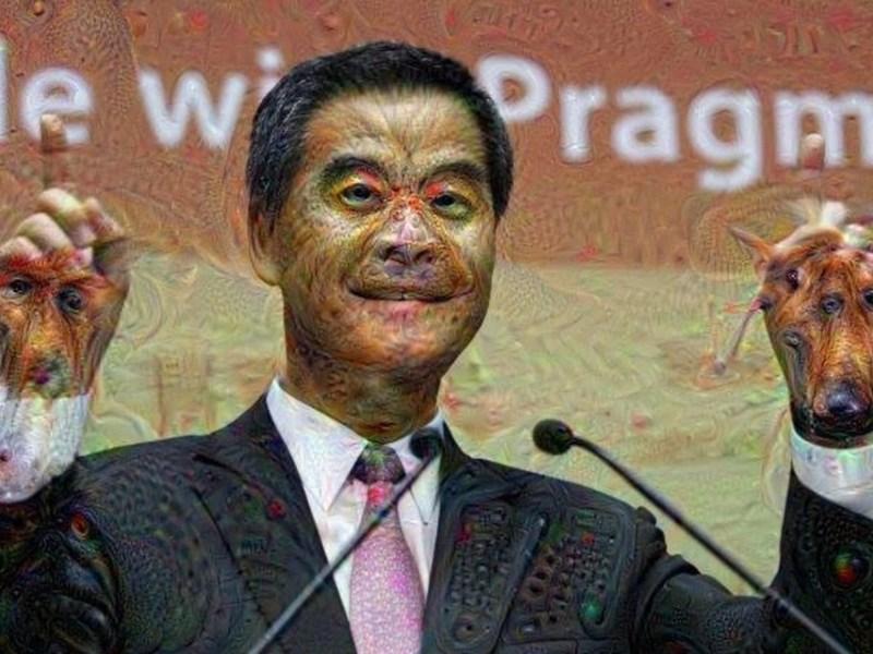 creepy cy leung