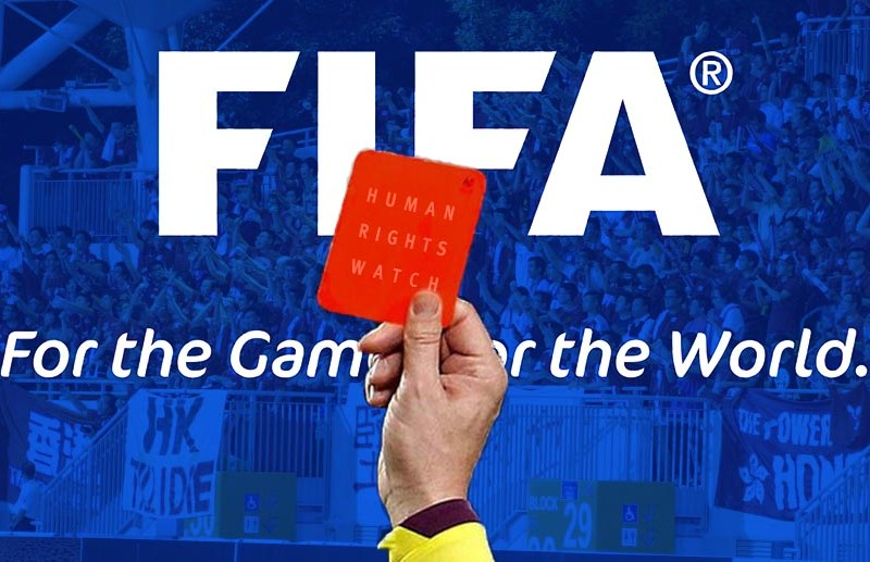 Showing FIFA the red card