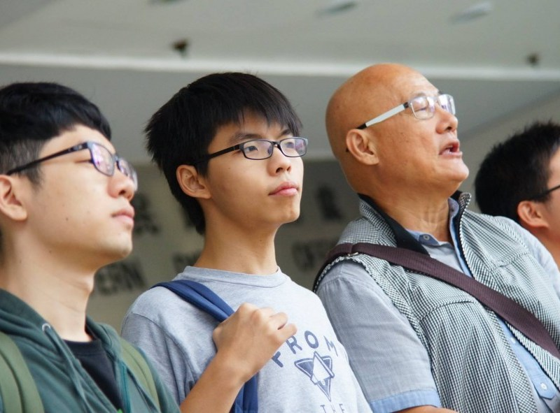 joshua wong and white paper