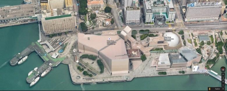 google maps 3d hong kong
