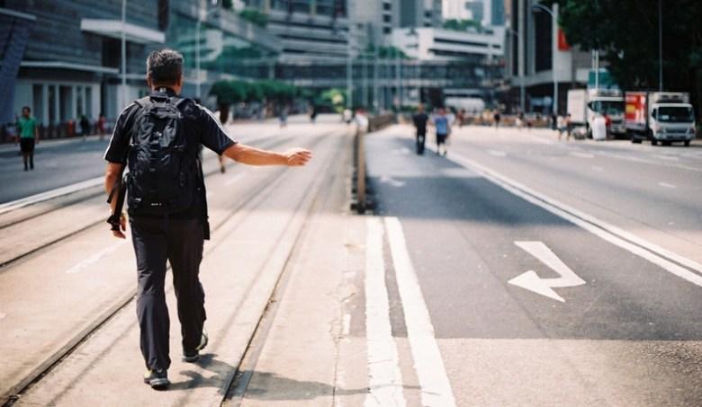 occupy umbrella man