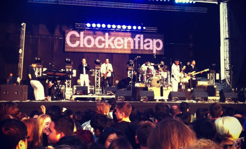 Clockenflap in 2013. Photo: HKFP.