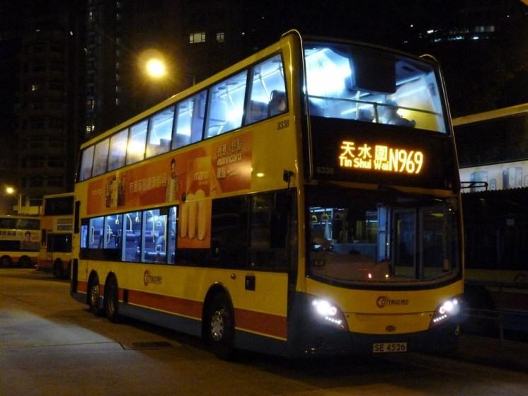 The N969 bus.