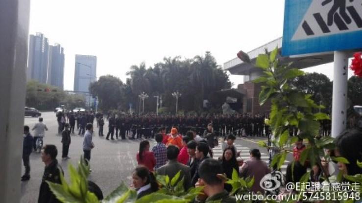 shenzhen factory closure