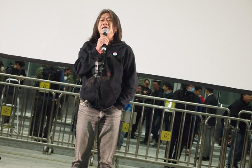 Leung Kwok-hung. Photo: HKFP.