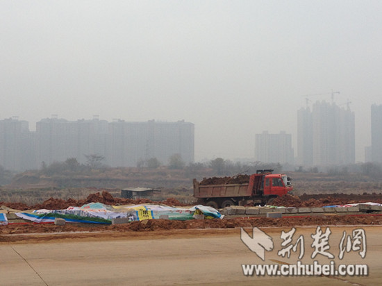 Panlongcheng construction site