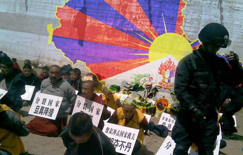 Tibetan monks arrested