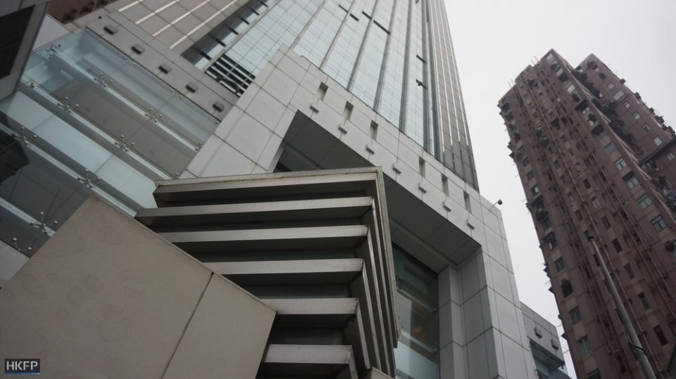 The China Liaison Office, Sheung Wan