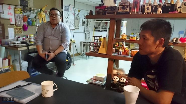 Paddy Ng (left) and Gary Chan.
