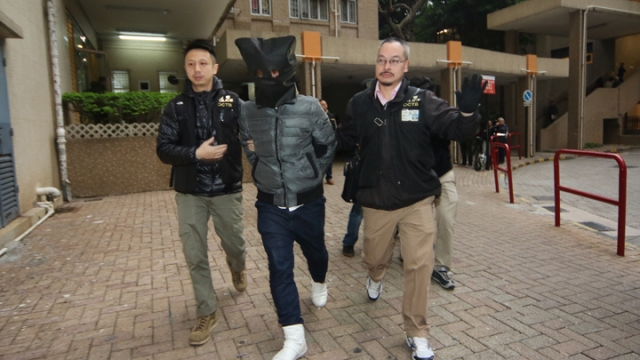 mong kok unrest arrest
