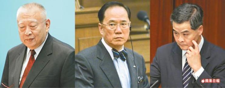 chief executive cy leung donald tsang tung chee-hua