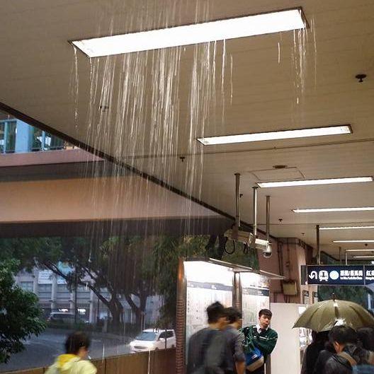 Ceiling rain Sheung Shui