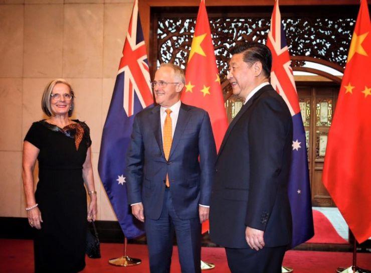 Turnbull Xi Jinping