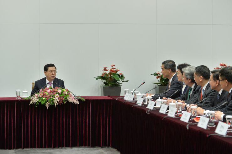 zhang dejiang govt work