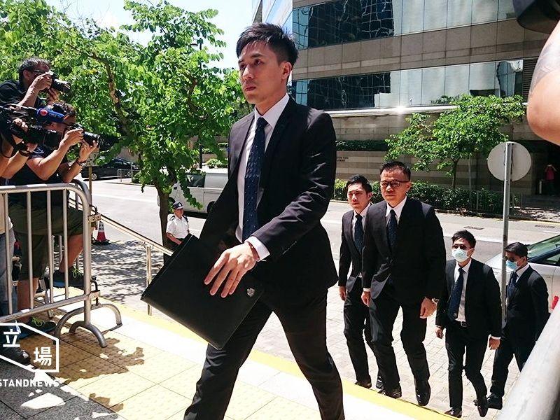 defendants of ken tsang assault case