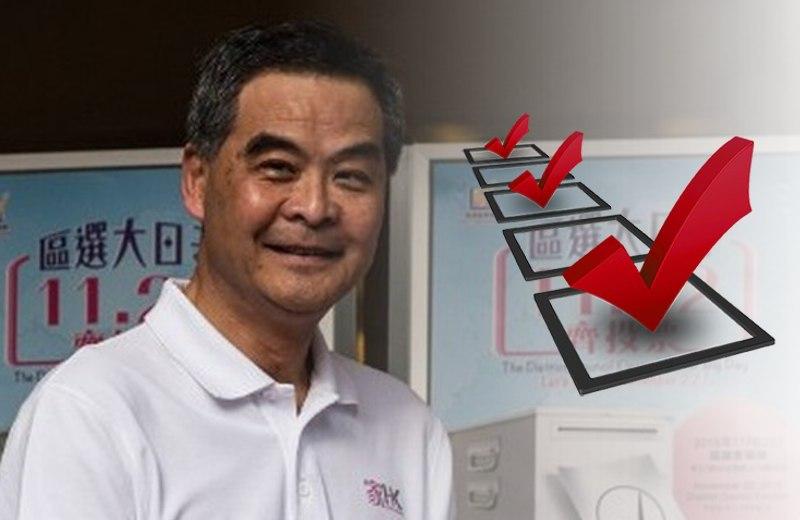 cy leung vote