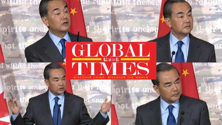 Wang Yi global times