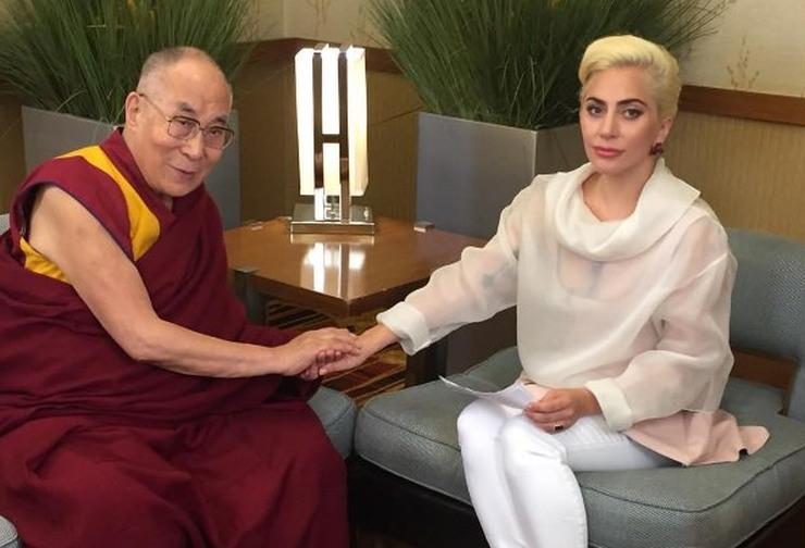 lady gaga dalai lama