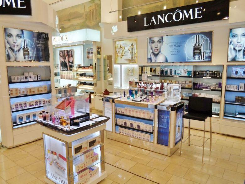 lancome counter