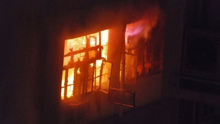 fire industrial building