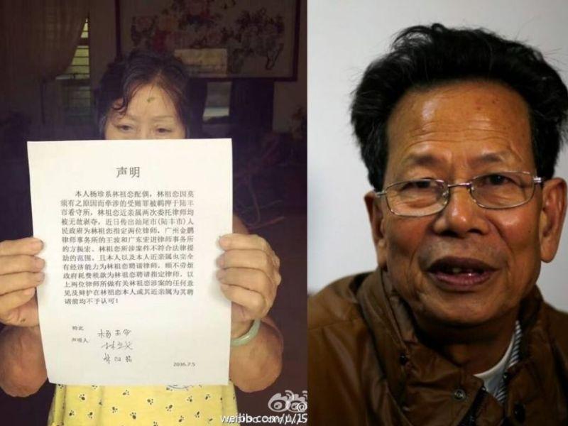 lin zuluan family lawyer