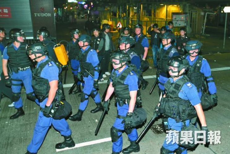Special Tactical Squad police hong kong