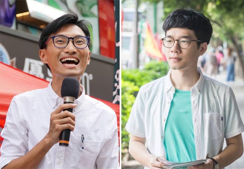 Eddie Chu Hoi-dick Nathan Law Kwun-chung