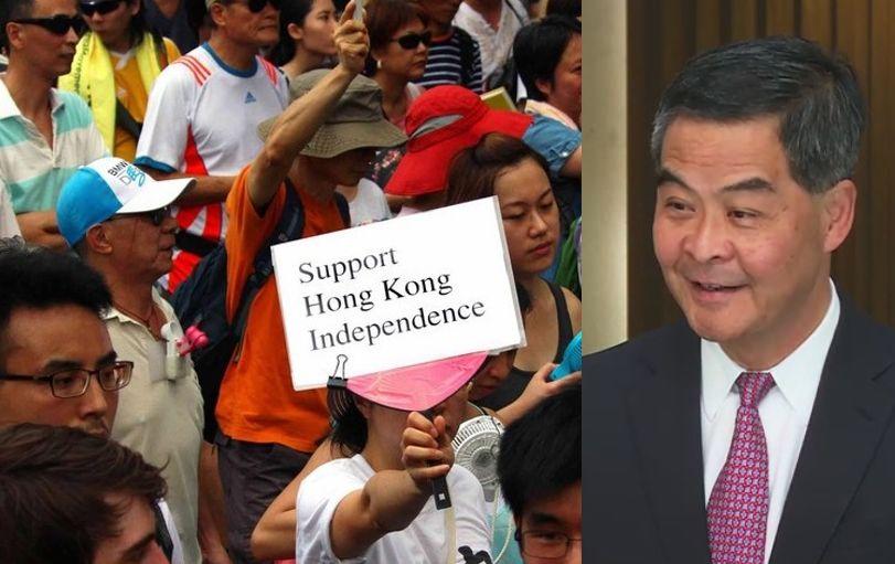 Leung Chun-ying cy independence