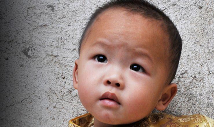 one child poor china