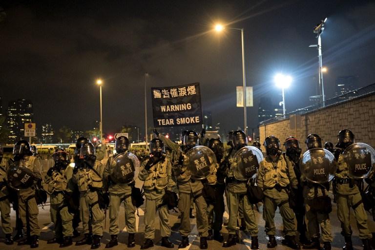 tear gas democracy occupy hong kong protest umbrella