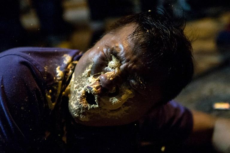 pepper spray democracy occupy hong kong protest