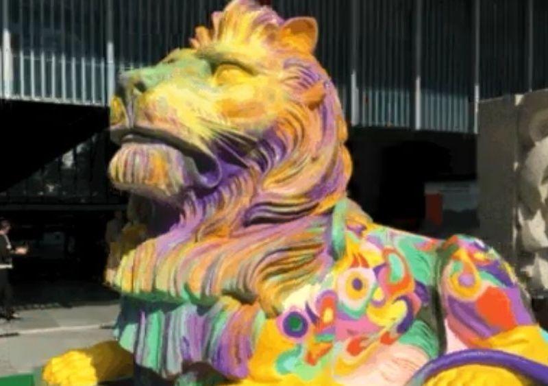hsbc lgbt lion
