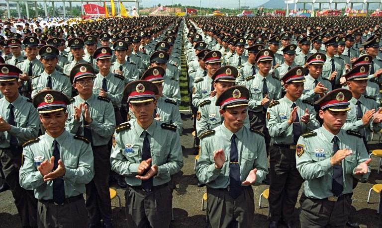 pla army hong kong Shenzhen