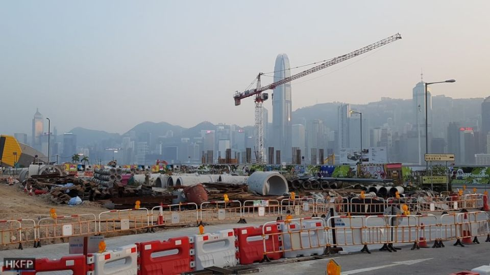 West Kowloon Cultural District.