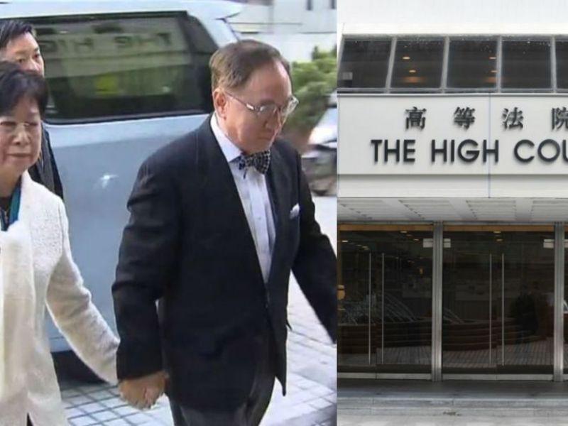 donald tsang court