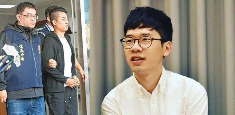 joshua wong nathan law attack arrests