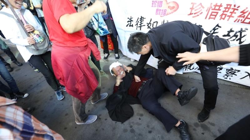 judge ken tsang occupy judge police