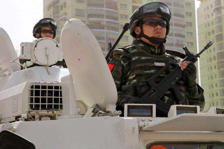 xinjiang security