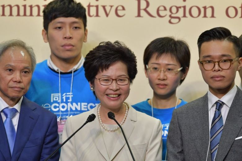 carrie lam election