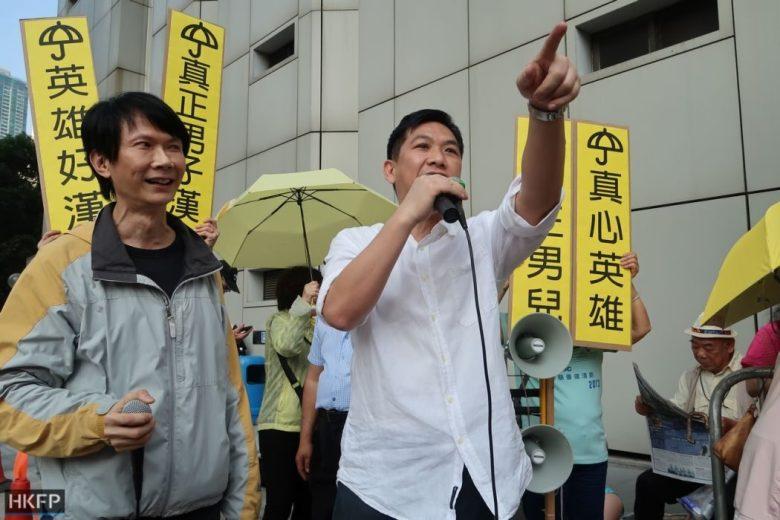 ken tsang pro-democracy supporters