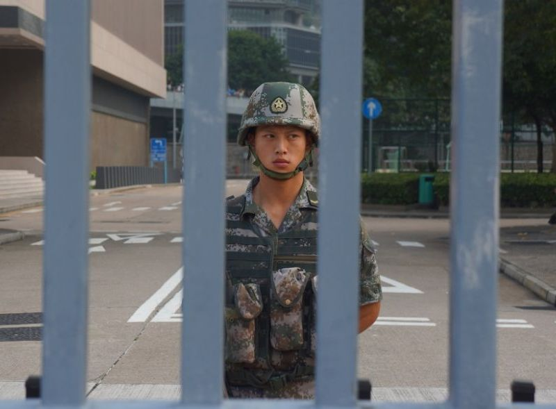 pla garrison hong kong army central