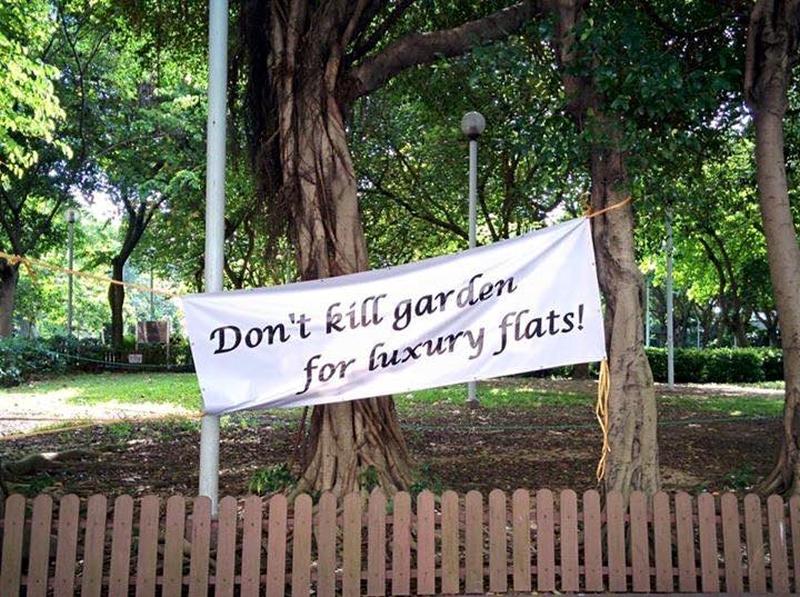 Cadogan Street Temporary Garden