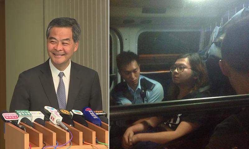 Leung Chun-ying Hidden Agenda