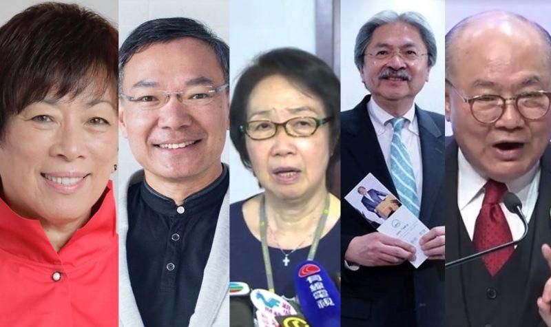 Selina Chow Paul Tse Chan Yuen-han John Tsang Woo Kwok-hing