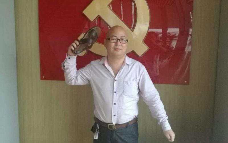 Wu Bin dissident activist Shenzhen