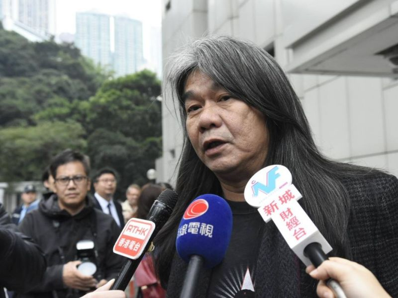 leung kwok hung long hair
