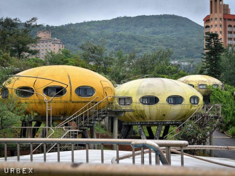 HK Urbex Taiwan space pod UFO home house